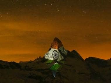 Coronavirus Outbreak: Switzerland's Matterhorn peak lights up with Indian flag in show of solidarity; Narendra Modi shares pic