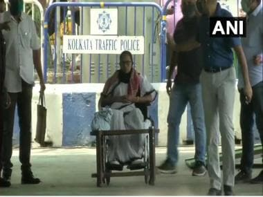 Assembly Election 2021 LIVE Updates: Mamata Banerjee begins dharna in Kolkata against EC ban on electioneering for 24 hrs 2