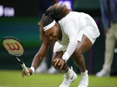 Wimbledon 2021: Serena Williams 'heartbroken' after leg injury in first-round forces early exit