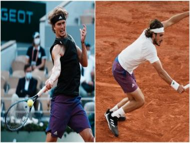 French Open 2021 Live, men's semi-finals: Zverev in command in fourth set; Tsitsipas up two sets to one