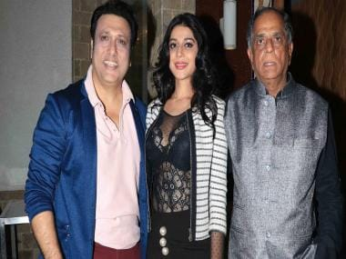 Govinda, Mishika Chourasia, Pahlaj Nihalani hold press conference to address CBFC troubles of Rangeela Raja
