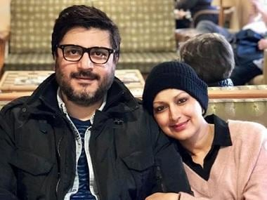 Sonali Bendre writes note for Goldie Behl on wedding anniversary: Thank you for being my strength