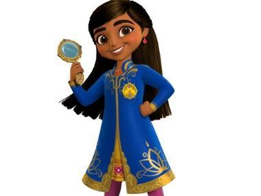 Disney's animated mystery-adventure series Mira, Royal Detective features Freida Pinto, Kal Penn