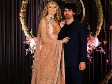 Priyanka Chopra, Nick Jonas Delhi reception: Sophie Turner turns heads in Sabyasachi lehenga