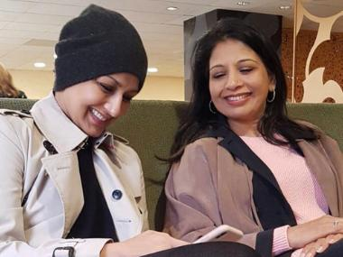 Sonali Bendre thanks sister Rupa for standing by her in battle against cancer: She dropped everything in a heartbeat