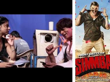 Shah Rukh Khan joined by daughter Suhana on Zero set; New Simmba poster released: Social Media Stalkers' Guide