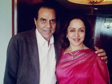 Hema Malini wishes Dharmendra on his 83rd birthday, posts throwback images with husband