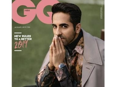 Ayushmann Khurrana features as 'The Dark Horse' on GQ cover after consecutive successes in Badhaai Ho, Andhadhun