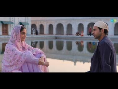 Ek Ladki Ko Dekha Toh Aisa Laga title track is a soulful recreation with Punjabi lyrics peppered all over