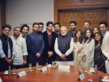 Narendra Modi urges Bollywood A-listers to spread awareness about Lok Sabha Election 2019