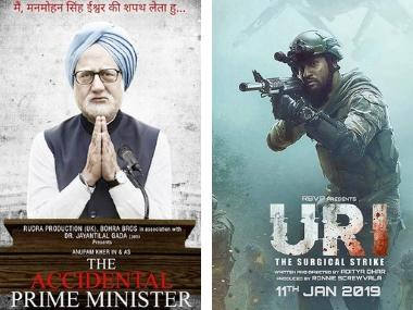 Uri: The Surgical Strike earns Rs 8.2 cr on opening day at box office; The Accidental Prime Minister rakes in Rs 4.5 cr
