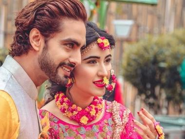 Sheena Bajaj, Rohit Purohit's pre-wedding festivities kick off with haldi, mehendi ceremonies in Jaipur