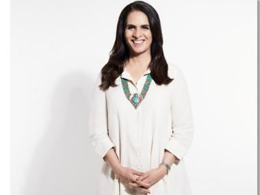 Anita Dongre on her feminine silhouettes: A woman doesn't need to wear pants to show she's the boss