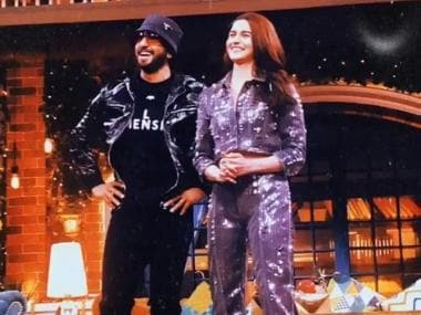 Ranveer Singh video calls Deepika Padukone, Ginni Chatrath appears on The Kapil Sharma Show