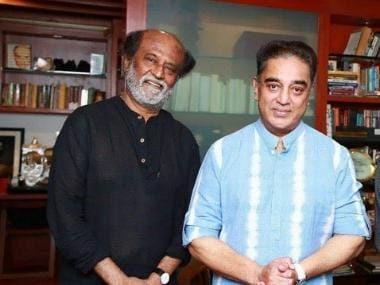 Rajinikanth meets Kamal Haasan, invites MNM chief for daughter Soundarya's wedding on 11 February