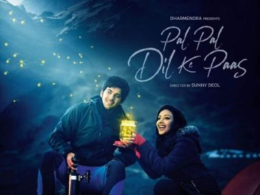 Pal Pal Dil Ke Paas first look: Karan camps out with Sahher Bambba in Sunny Deol's upcoming directorial