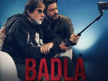 Badla: Amitabh Bachchan jokingly demands bonus from Shah Rukh Khan after film's box-office success