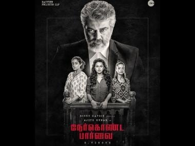 Why Nerkonda Paarvai is a fitting title for Ajith, Shraddha Srinath's Tamil remake of Pink