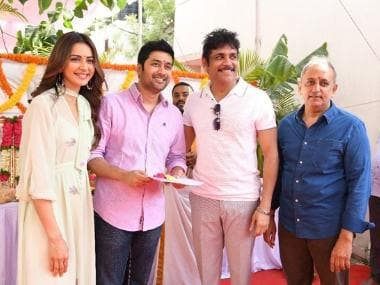 Manmadhudu 2: Sequel to Nagarjuna's 2002 blockbuster, starring Akkineni, Rakul Preet Singh, launched in Hyderabad