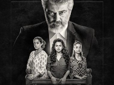 Nerkonda Paarvai, Pink Tamil remake starring Shraddha Srinath and Ajith, to release on 10 August