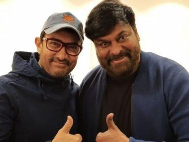 Aamir Khan runs into Telugu superstar Chiranjeevi in Japan: 'You are always such an inspiration, sir'