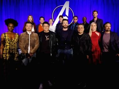 Avengers: Endgame press conference leaves empty seats for 'fallen' superheroes as survivors dodge spoilers