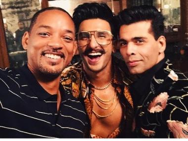 Watch: Will Smith dances with Ranveer Singh, visits Haridwar, grooves to SOTY's 'Radha' on Bucket list