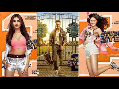 Student of the Year 2: Karan Johar unveils first look posters of Ananya Panday, Tara Sutaria, Tiger Shroff