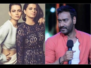 Kangana Ranaut's sister Rangoli attacks Ajay Devgn for working with Alok Nath in De De Pyaar De