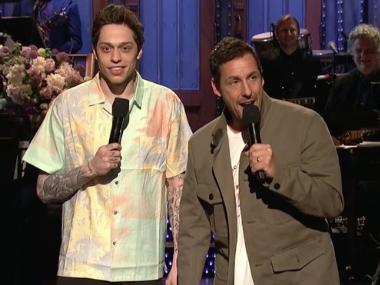 Adam Sandler returns to host SNL after two decades, sings 'I Got Fired By NBC' with Chris Rock, Pete Davidson