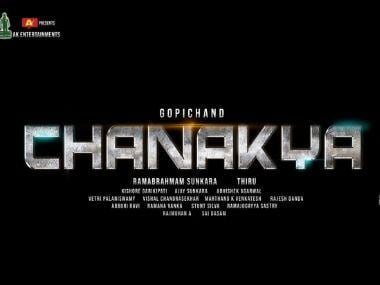Chanakya: Gopichand, Mehreen Pirzada's upcoming Telugu spy thriller gets a title and logo
