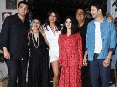 Priyanka Chopra attends The Sky is Pink wrap up party with Zaira Wasim, writes note on Instagram