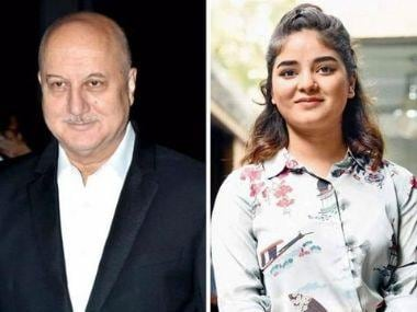 Zaira Wasim quits Bollywood: Anupam Kher says actress' move 'must have demoralised so many others'