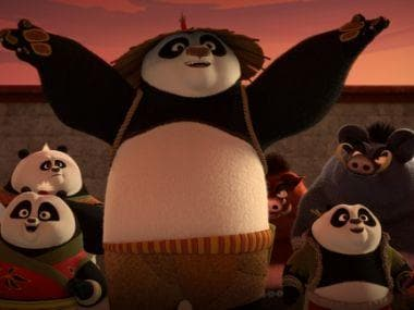Kung Fu Panda: The Paws of Destiny season 1 part 2 — Po, Four Constellations are delightful in this visually-rich tale