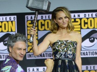 Natalie Portman will take up Mjolnir in Thor: Love and Thunder, announces director Taika Waititi