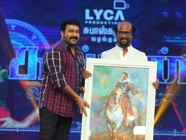 Kaappaan audio launch: Rajinikanth backs Suriya's NEP stand, Mohanlal praises director KV Anand