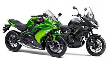 Choosing Between The Kawasaki Versys 650 And The Ninja 650