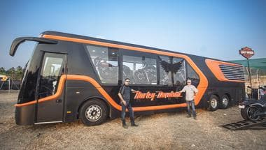 Harley-Davidson India launches its first mobile dealership