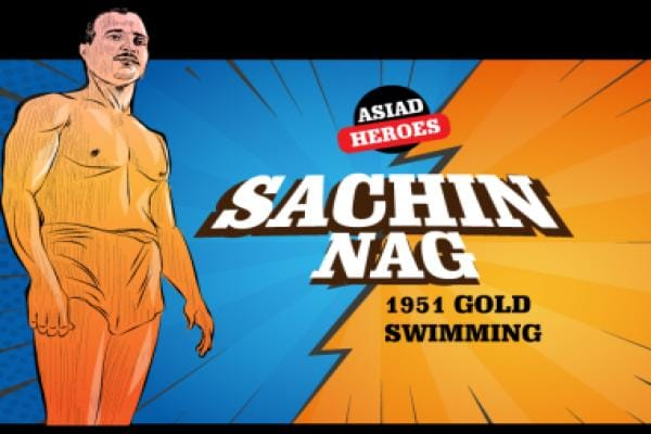 Asian Games 2018: Illustrated history of Sachin Nag, the swimmer who won India's first Asiad gold in 1951