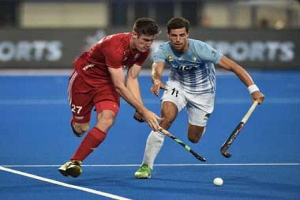Hockey World Cup 2018: England stun Olympic champions Argentina to progress into semi-final stage