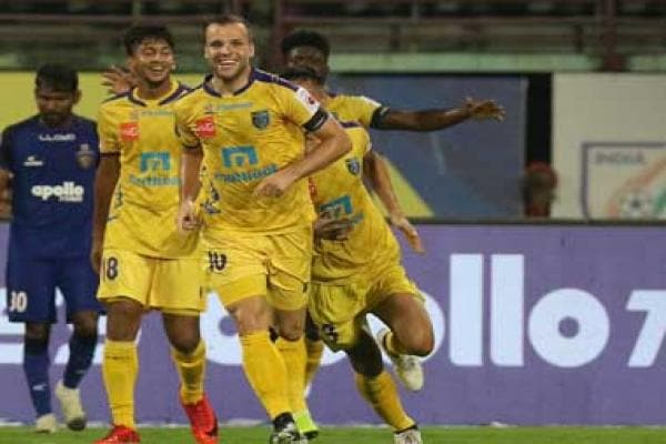 ISL 2018-19: Kerala Blasters FC record second victory of campaign against bottom-placed Chennaiyin FC