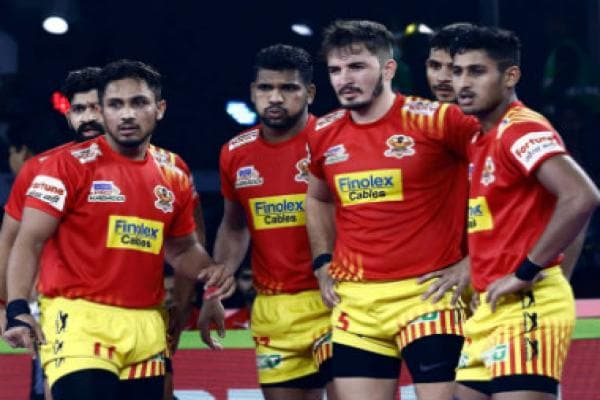 Pro Kabaddi 2019 Highlights, Telugu Titans vs Gujarat Fortunegiants in Noida: Fortunegiants end season with a 48-38 win