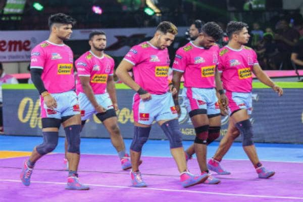 Pro Kabaddi 2019 Highlights, Jaipur Pink Panthers vs Telugu Titans at Delhi: Vishal Bhardwaj's efforts go in vain as Jaipur clinch win