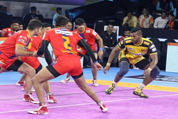 Pro Kabaddi 2019: Telugu Titans robbed of first win of season by poor refereeing in 20-20 tie against UP Yoddha