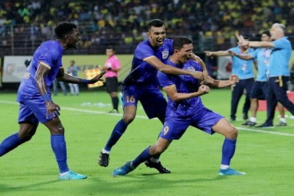 ISL 2019-20: Amine Chermiti's late goal helps Mumbai City win opener against Kerala Blasters, record first-ever win in Kochi