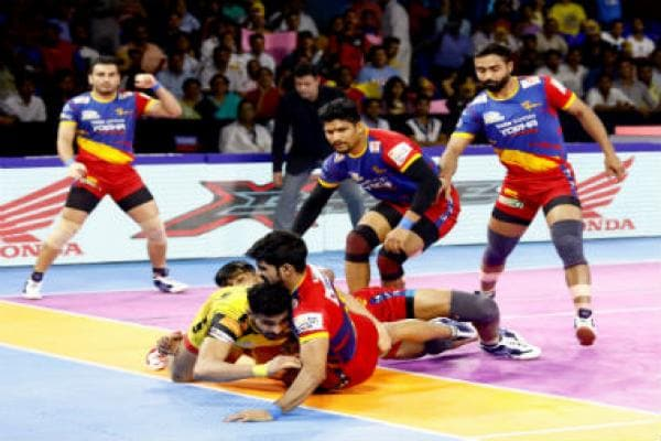 Pro Kabaddi 2019 Highlights, UP Yoddha vs Bengaluru Bulls in Greater Noida: UP Yoddha end home leg with 45-33 win