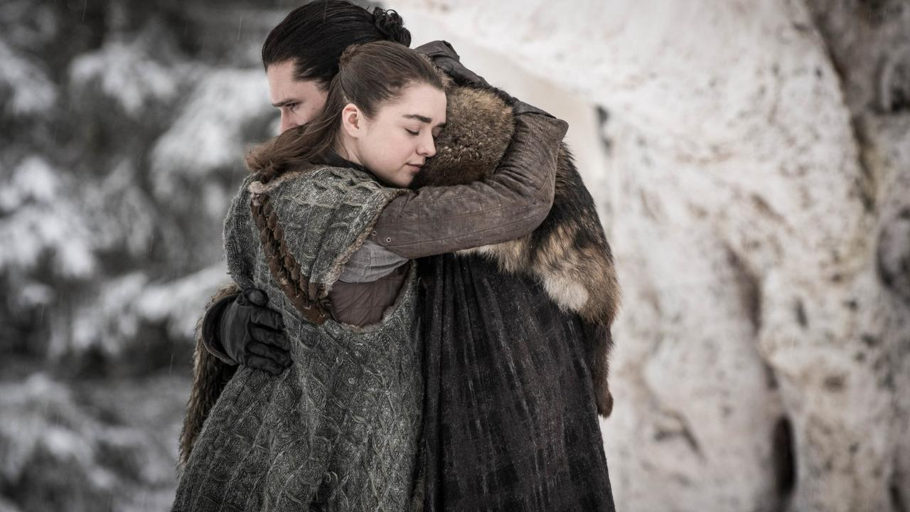 Image result for jon and arya