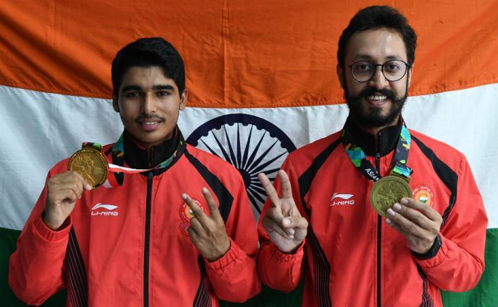 Saurabh Chaudhary, Abhishek Verma dominate men's 10m Air Pistol at Asian Games; India drub Kazakhstan 21-0 in women's hockey