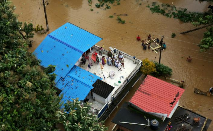 Heavy rains, floods bring Kerala to a standstill: Rescue operations scaled up as 12 districts remain on red alert