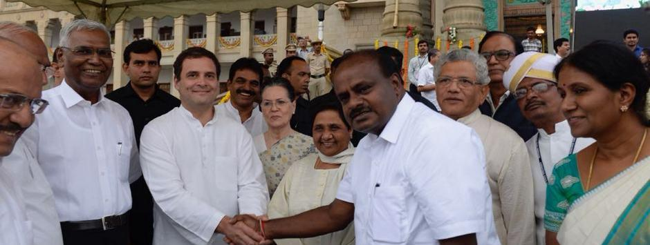 Karnataka govt formation: Congress-JD(S) alliance off to shaky start with 'berthing pains' over portfolios, farmers' loans